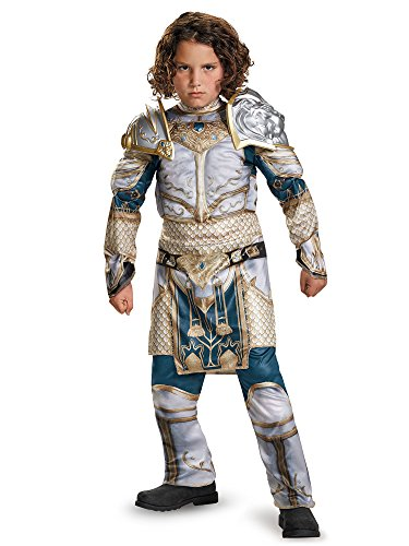 Disguise King Llane Classic Muscle Warcraft Legendary Costume