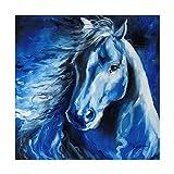 "Trademark Fine Art Blue Thunder by Marcia Baldwin Fine Art, 18"" x 18"", Multicolor"