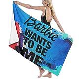 Best Barbie Towel Sets - D&Y Barbie Wants to Be Me Hand Towel Review