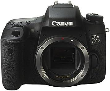 Canon EOS 760D - Cámara réflex Digital de 24.2 MP (Pantalla táctil ...