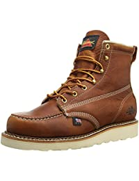 "Thorogood Men's American Heritage 6"" Moc Toe Boot"