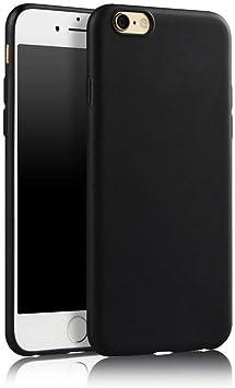 SDTEK Coque iPhone 6s, iPhone 6s / 6 (Noir) Housse [Matte Gel ...