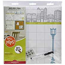 WallPops WPE0761 Globe Trotter Organization Kit Wall Decals