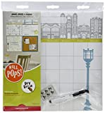 Wall Pops WPE0761 WPE0761 Globe Trotter Organization Kit Wall Decals