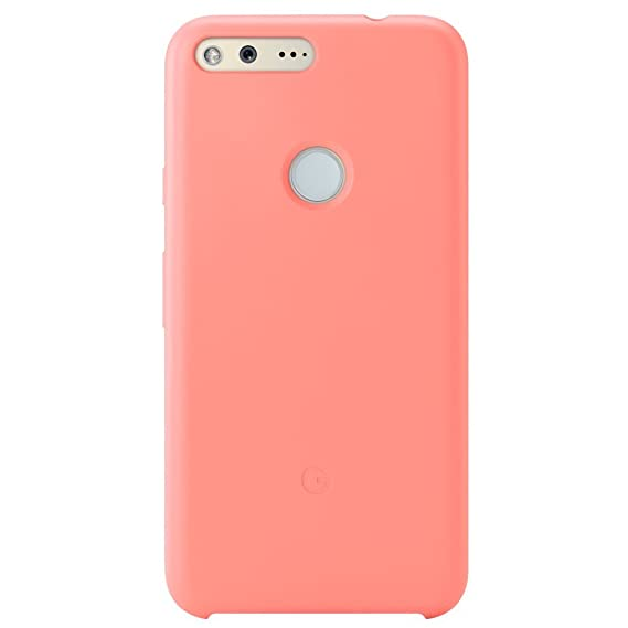 buy popular 7b476 a098b Amazon.com: Google Pixel 1 Case - Peach: Cell Phones & Accessories