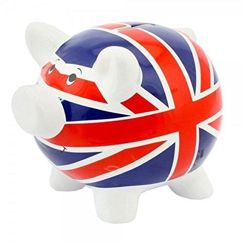 union jack piggy bank - 1