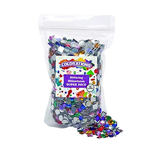 (Colorations Vegas Rhinestones Super Pack (Pack of 2000))