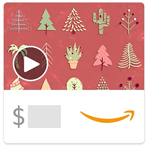 Amazon eGift Card - Festive Trees (Animated)]()