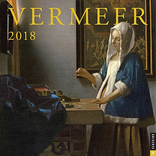 Vermeer 2018 Wall Calendar from Andrews McMeel Publishing