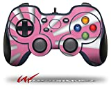 Rising Sun Japanese Flag Pink - Decal Style Skin fits Logitech F310 Gamepad Controller (CONTROLLER SOLD SEPARATELY)