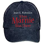 Aiyle Bonee When Marnie Was There Adjustable Baseball Caps for Female Navy One Size