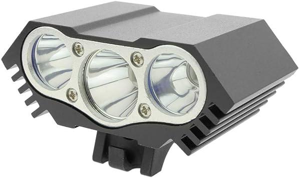 PrimeMatik - Luz LED Frontal para Cabeza y Bicicleta con batería de...