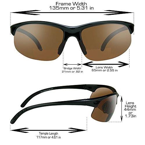 Gafas sol alta bifocales Lentes de sin Alta con montura o de amarillas de cobre definición Definición de marco humo xCrq5xwS1