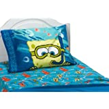 Spongebob Squarepants Sea Adventure 4pc Full Bed Sheet Set
