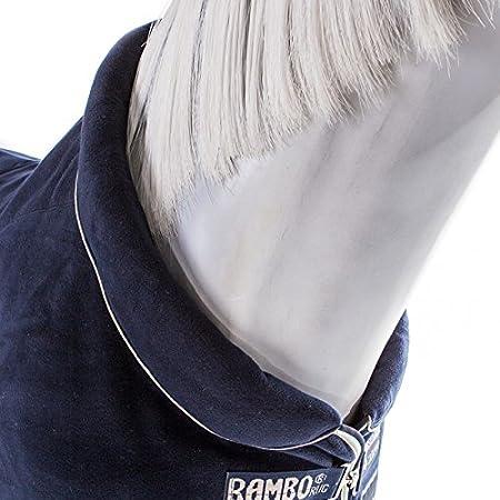 Navy with Beige Horseware Rambo Cosy Fleece