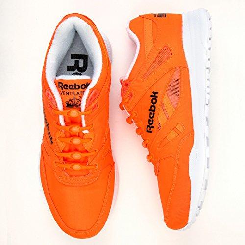 Todas Hickies 14 Cordones Funciona Elásticos Con Naranja tie Zapatillas No Originals' Unidades Las nOn1zB