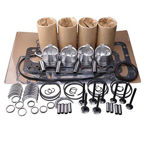 zt truck parts Overhaul Rebuild Kit for Isuzu 4LE2 Engine Hitachi JCB IHI Digger Generator - Ihi Parts