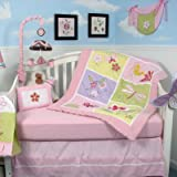 13 Piece Butterflies Meadows Baby Crib Nursery Bedding Set