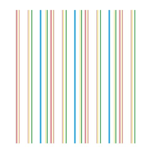 York Wallcoverings ZB3340 Wide Multi Stripe Wallpaper, Green/Bright Blue/Red/Yellow (Striped Wallpaper Red)