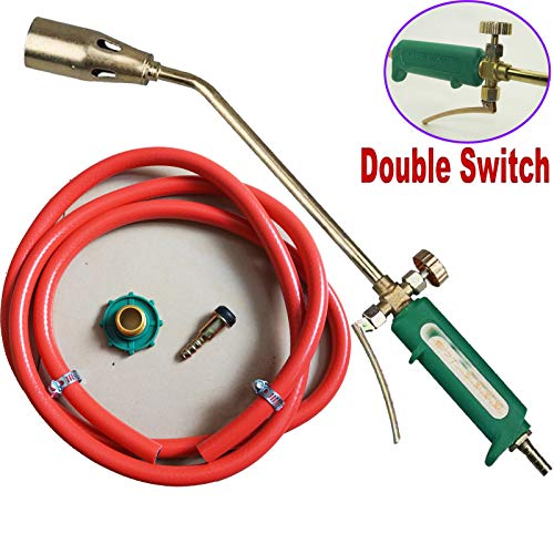Durable Steel Nozzle Propane Turbo Torch Blast Trigger - 79