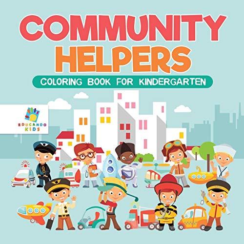 (Community Helpers | Coloring Book for Kindergarten)