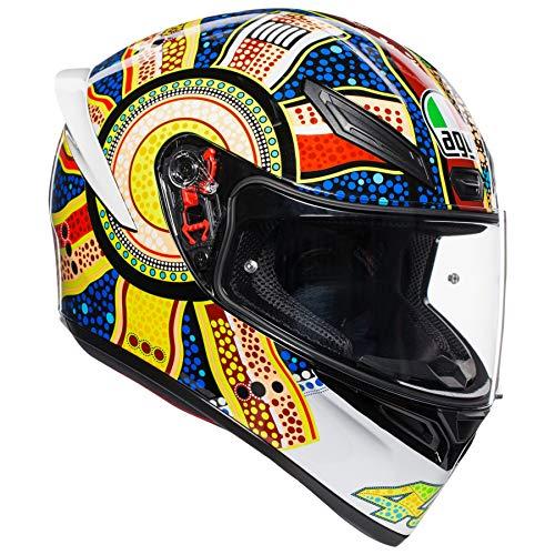 AGV Unisex-Adult Full Face K-1 Dreamtime Motorcycle Helmet Multi Large ()