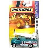 Matchbox 2007 #75 GMC Bucket Truck Green Ground Communications Utility Truck