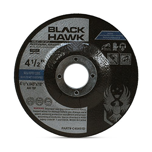 25 Pack Black Hawk 4-1/2