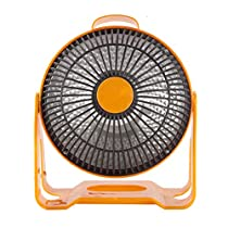 Quartz Heater With Overheat Protection And Carrying Handle Portable For Home And Office Use
