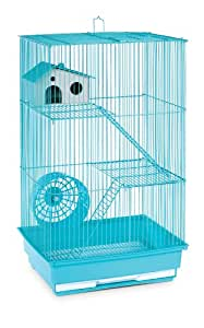 Prevue Hendryx SP2030G Three Story Hamster and Gerbil Cage, Mint Green