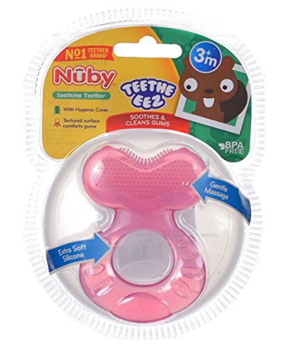 Nuby-Teethe-eez-Soft-Silicone-Teether-with-Bristles