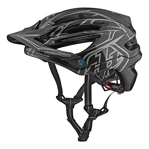 Troy Lee Designs A2 MIPS Helmet Pinstripe 2 Gray, M/L. from Troy Lee Designs