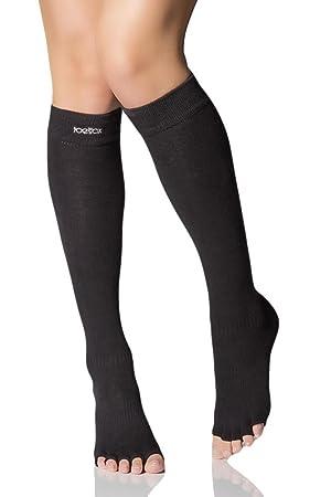 Toesox Grip Pilates - Calcetines antideslizantes para yoga y ...