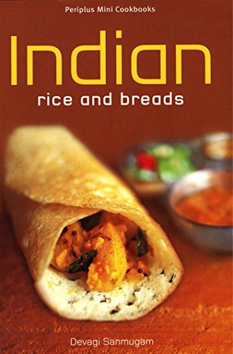 Mini Indian Rice and Breads (Periplus Mini Cookbook Series) by Sanmugam