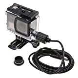 Xinvision Waterproof Case + USB Cable for SJCAM SJ6 Legend Action Camera Motorcycle Kit, Underwater Sports Camera Housing Shell Protection Case Cover
