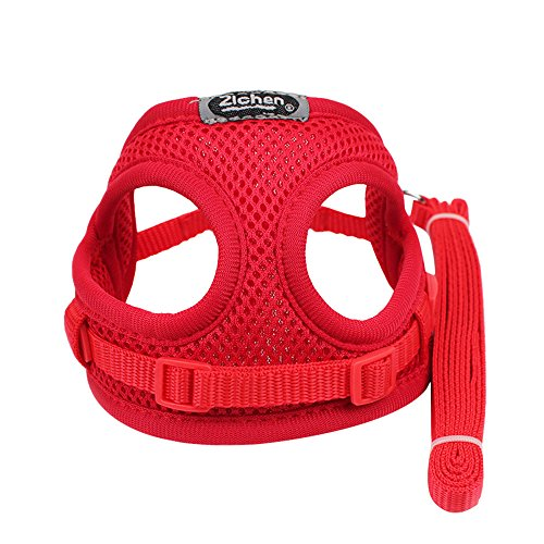 TOTOD Pets Puppy Dog Soft Mesh Walking Chest Collar Strap Durable Outdoor Vest ()