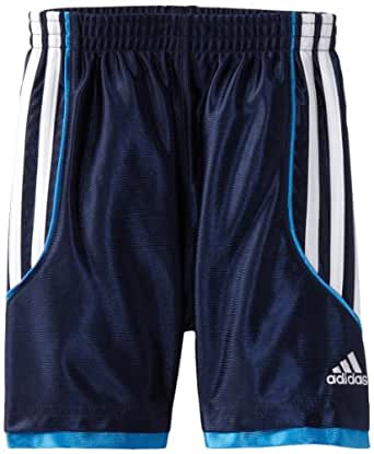 adidas Little Boys' Key Dazzle Short, Navy, 2T