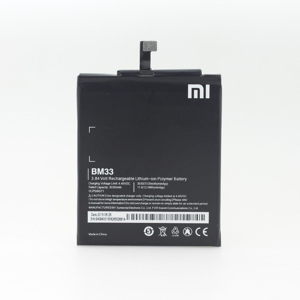 Mobile Battery For Xiaomi M4i Mi4i Mi 4i Electronics Charger Redmi 3 4 Fast Charging Original 100 Bm33 3120mah