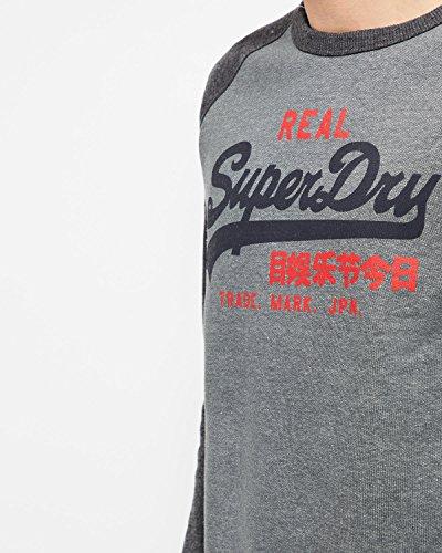 Superdry Herren Sweatshirt Grau slate
