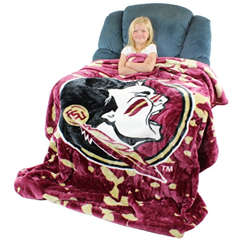 State Bed Florida (College Covers Florida State Seminoles Throw Blanket/Bedspread)