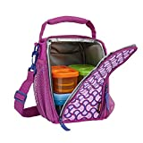 Rubbermaid LunchBlox Lunch Bag, Small, Purple 1873225