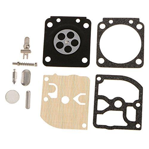 FLAMEER Carb reparatieset carb reparatieset afdichting membraan voor Zama C1Q carburateurs: C1Q-S54 -S63 -S63A -S66 -S78…