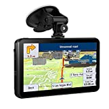 #9: SHENEN GPS Navigation for Car 7 Inches SAT NAV with 8GB Capacitive and Touchscreen System Include Overall America Maps with Lifetime Free Updates