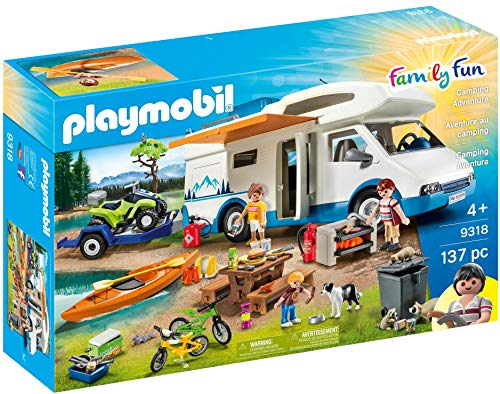 PLAYMOBIL Camping Mega Set Toy