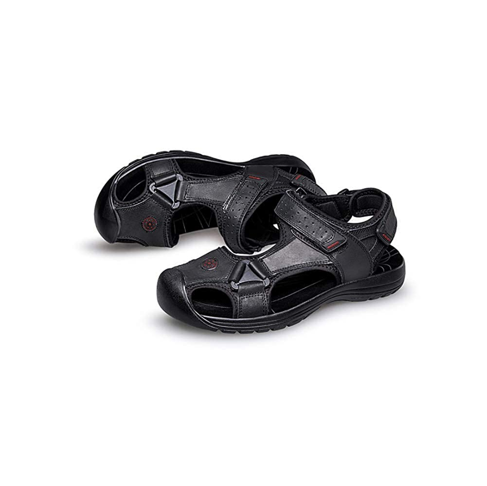LYZGF Strand Männer Jugend Sommer Casual Strand LYZGF Sandalen Mode Komfort Hausschuhe schwarz 91c459
