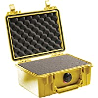 Pelican 1150 Camera Case With Foam (Yellow)