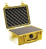 Pelican 1150 Camera Case With Foam (Yellow)