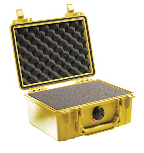 100 Yellow Small Case - Pelican 1150 Camera Case With Foam (Yellow)