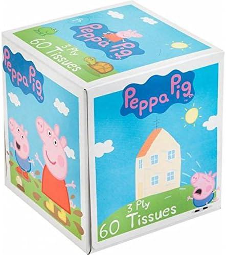 Caja de pañuelos Peppa Pig: Amazon.es: Juguetes y juegos