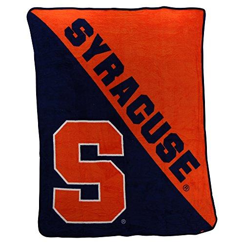 Ncaa Collegiate  Half Tone  Super Soft Plush Throw Blanket 46  X 60   Syracuse Orange